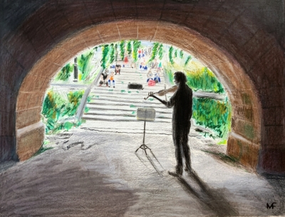 Tunnel Violist